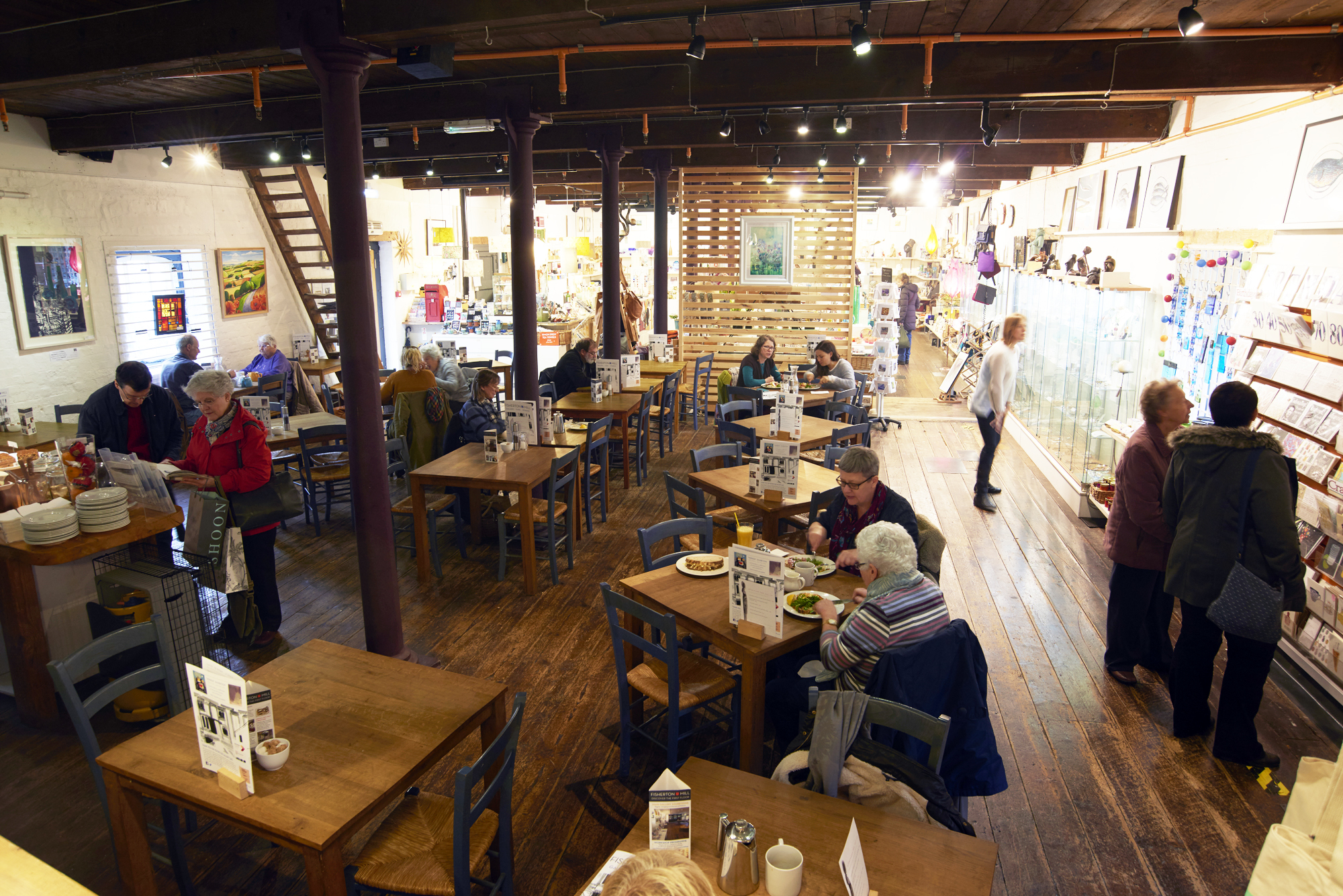 Gallery Cafe at Fisherton Mill