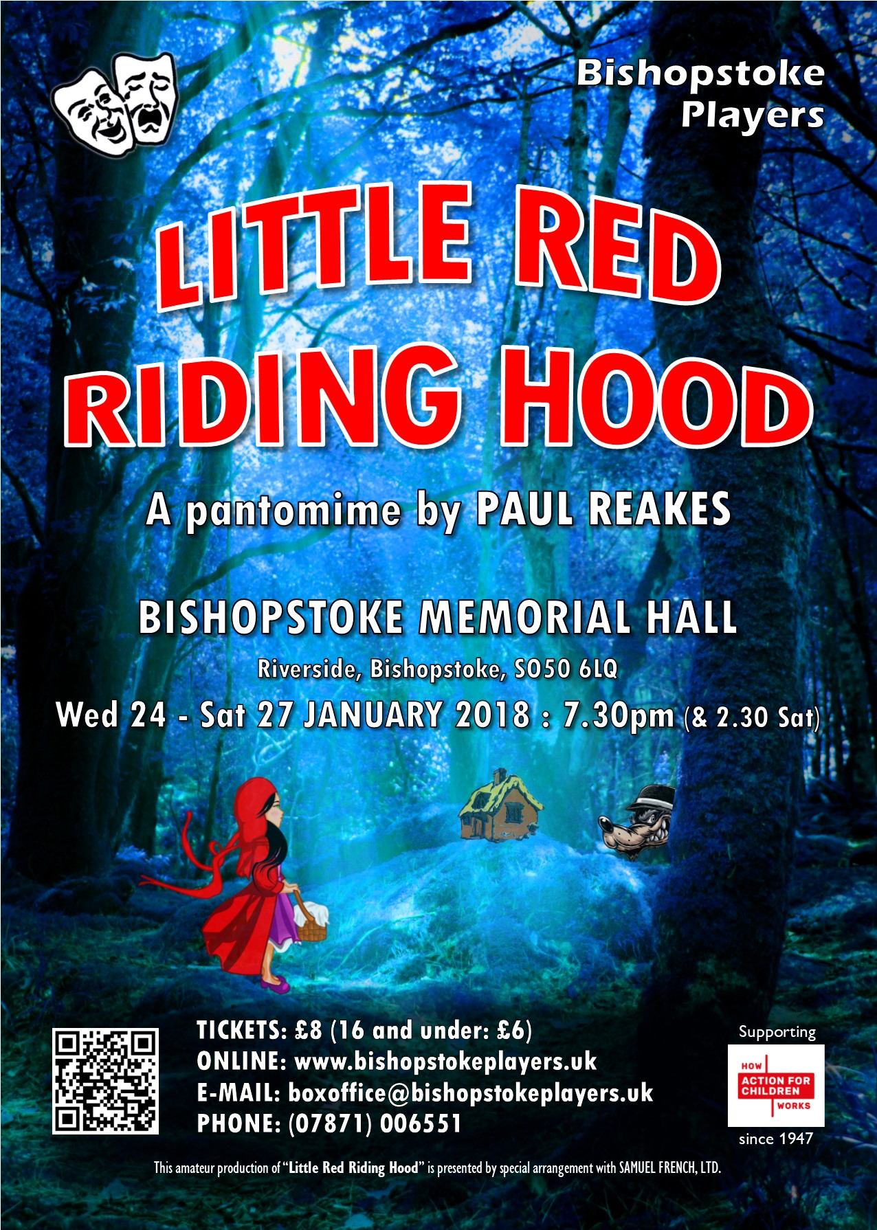 Bishopstoke Players Present Little Red Riding Hood Pantomime