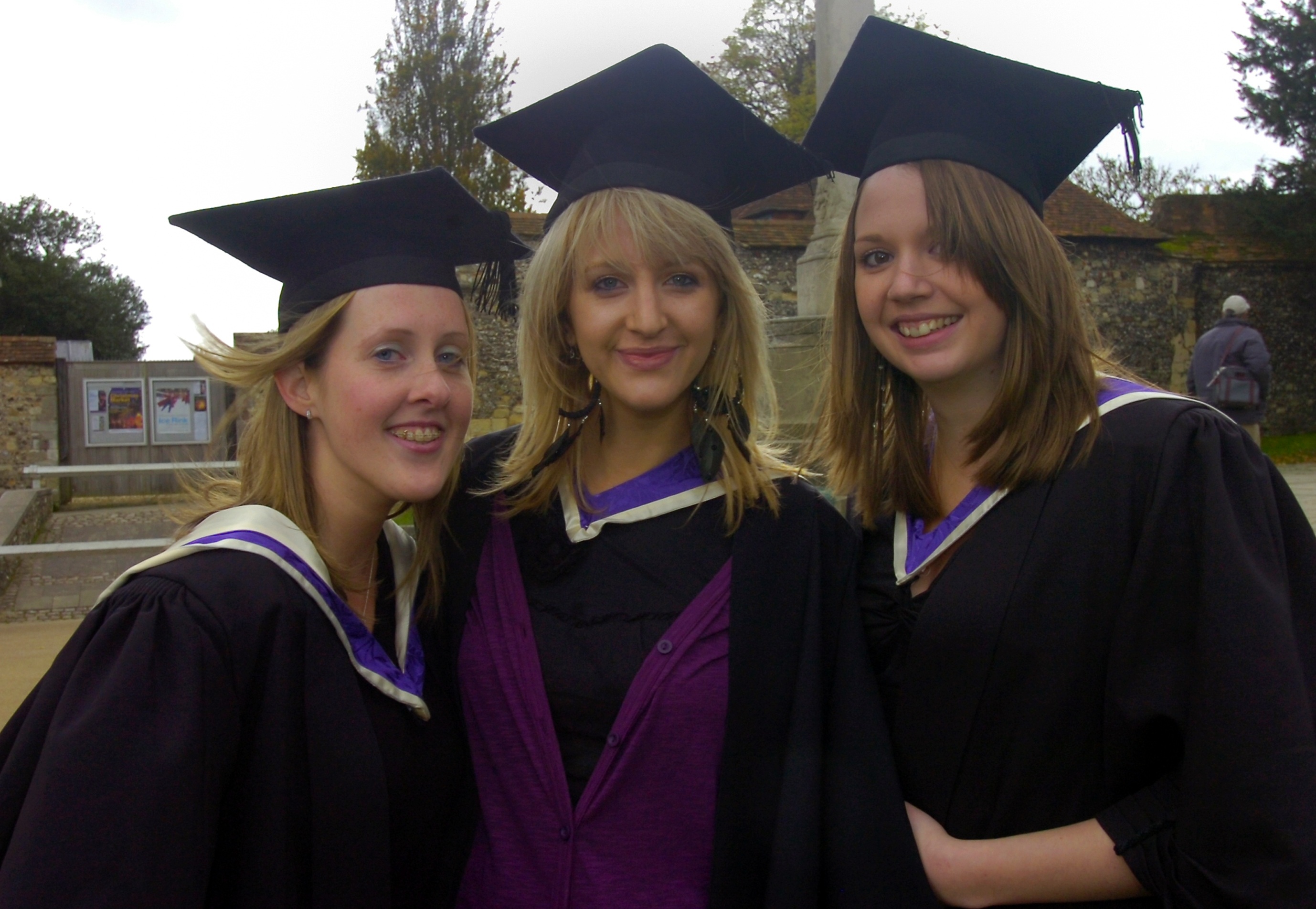 Previous graduates from the University of Winchester