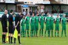 Laverstock observe a minutes silence.