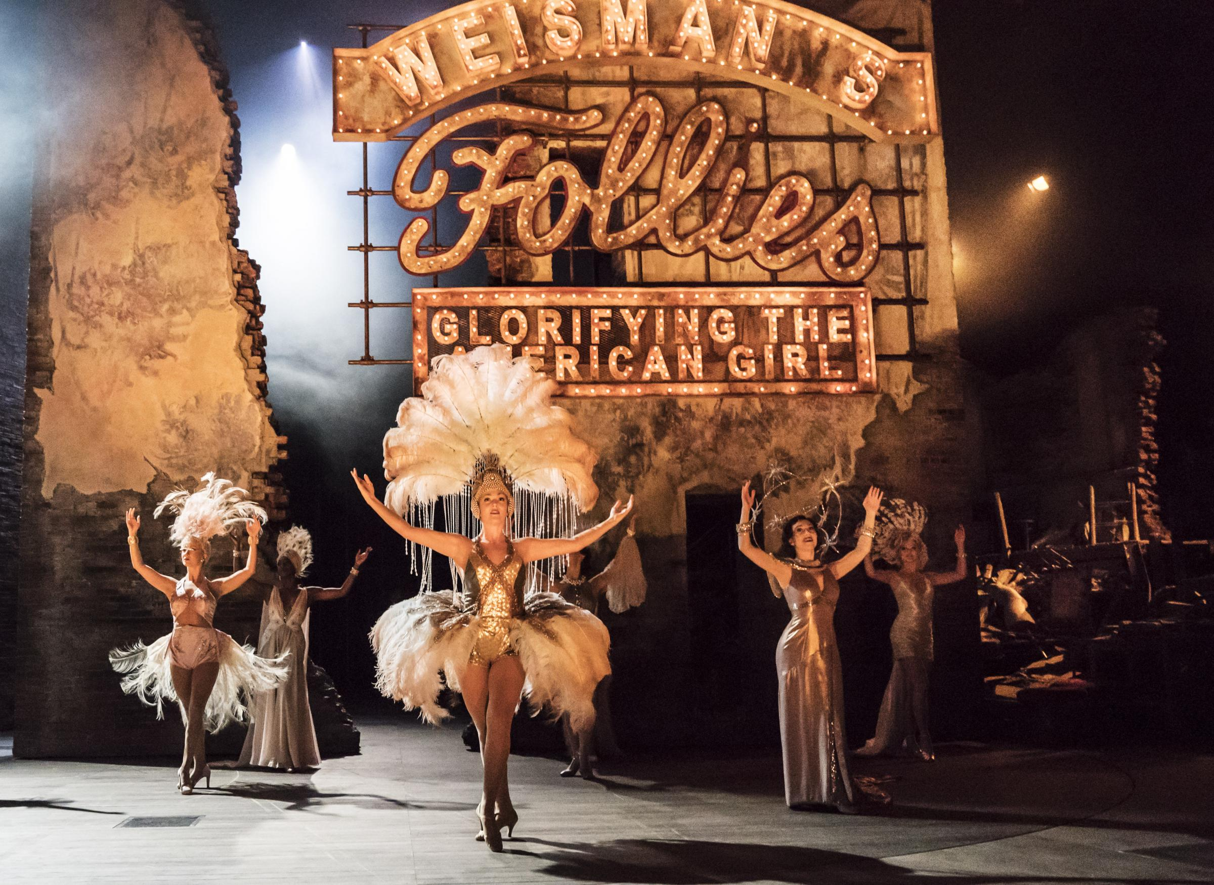 National Theatre Live: Follies is being screened at Salisbury Arts Centre. Picture by Johan Persson
