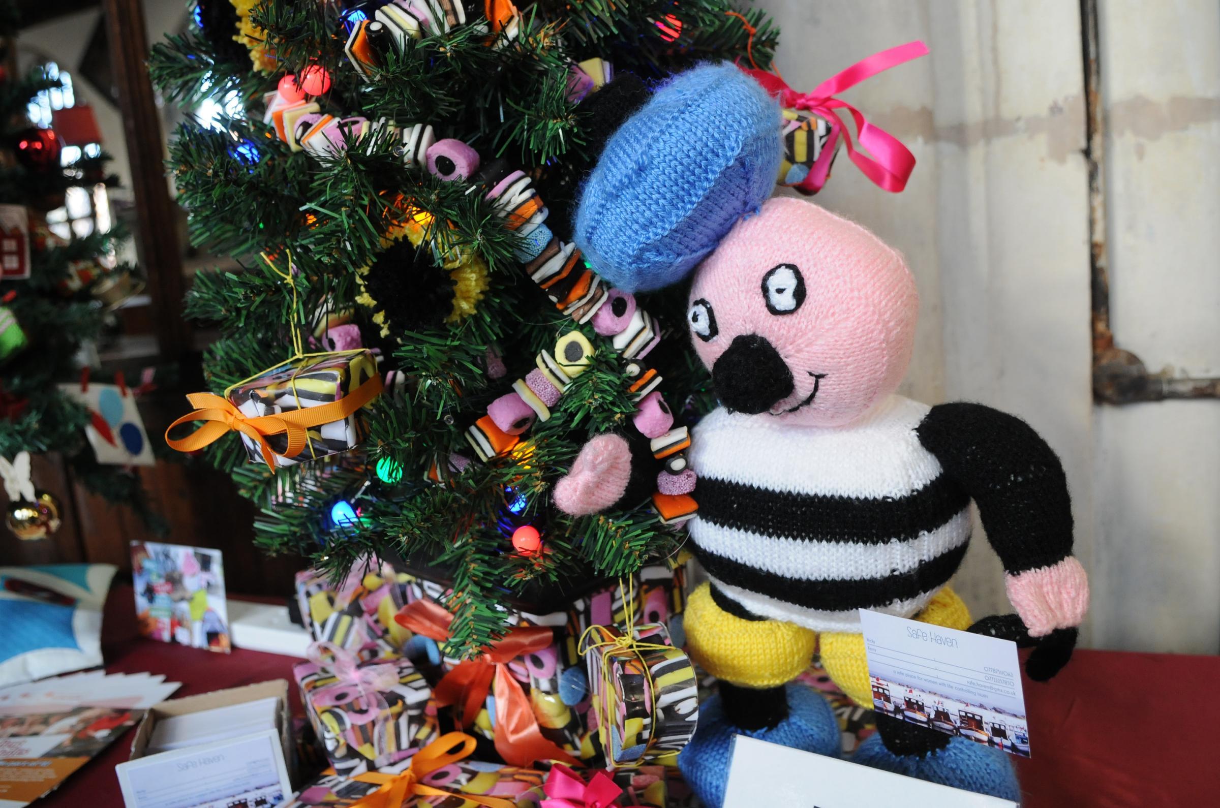 U0027Allsorts   All Welcomeu0027 By Safe Haven At Last Yearu0027s St Thomasu0027s Christmas  Tree. U0027