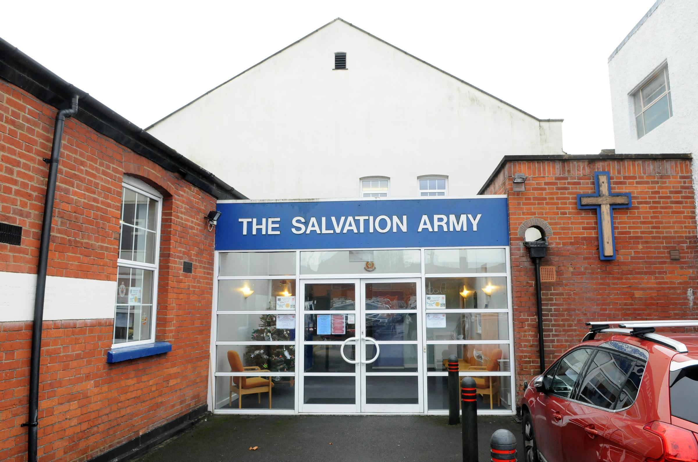 Salvation Army Hall on Salt Lane, Salisbury. DC8389P1..Picture by Tom Gregory.