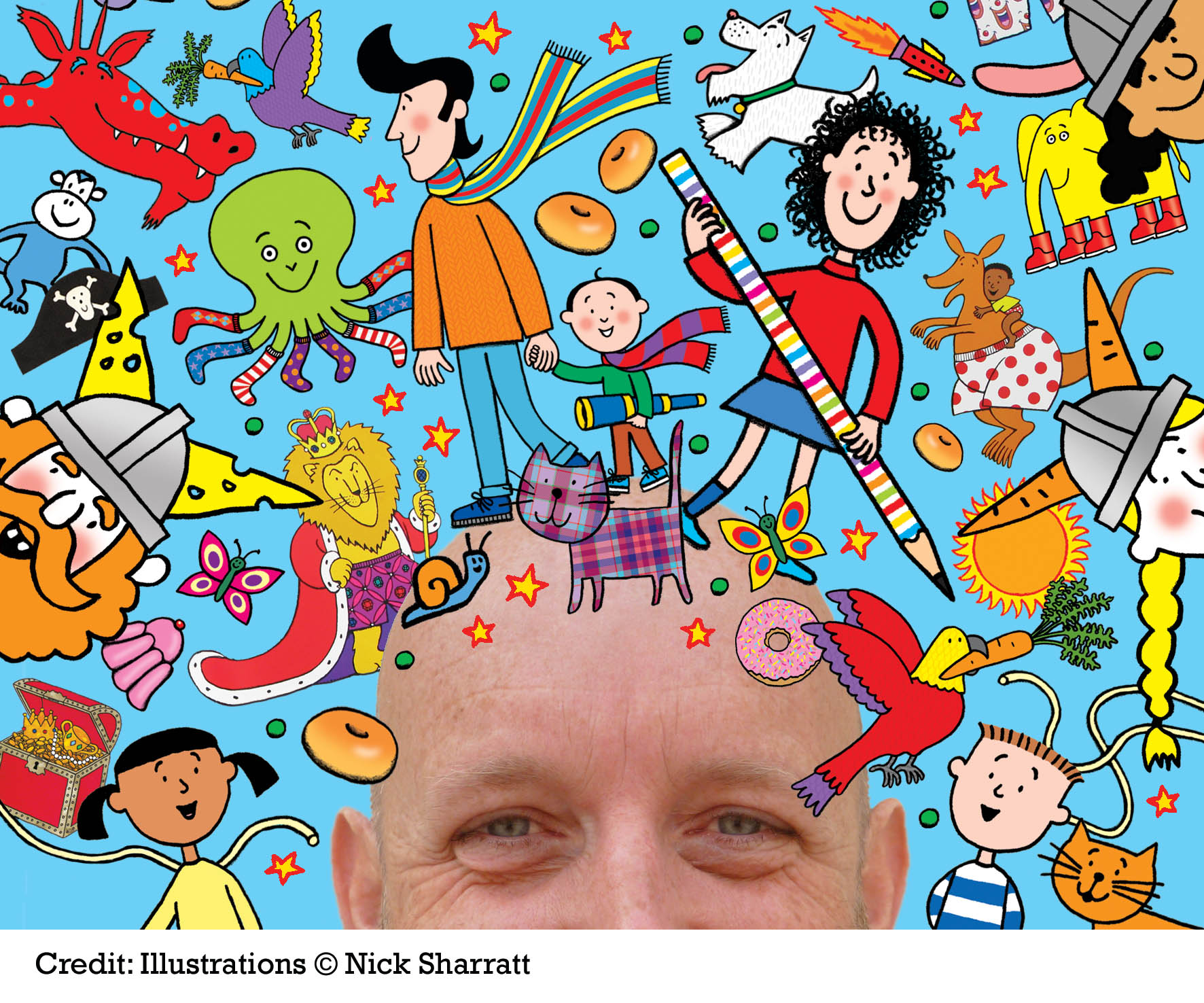 Nick Sharratt's Right Royal Draw-Along