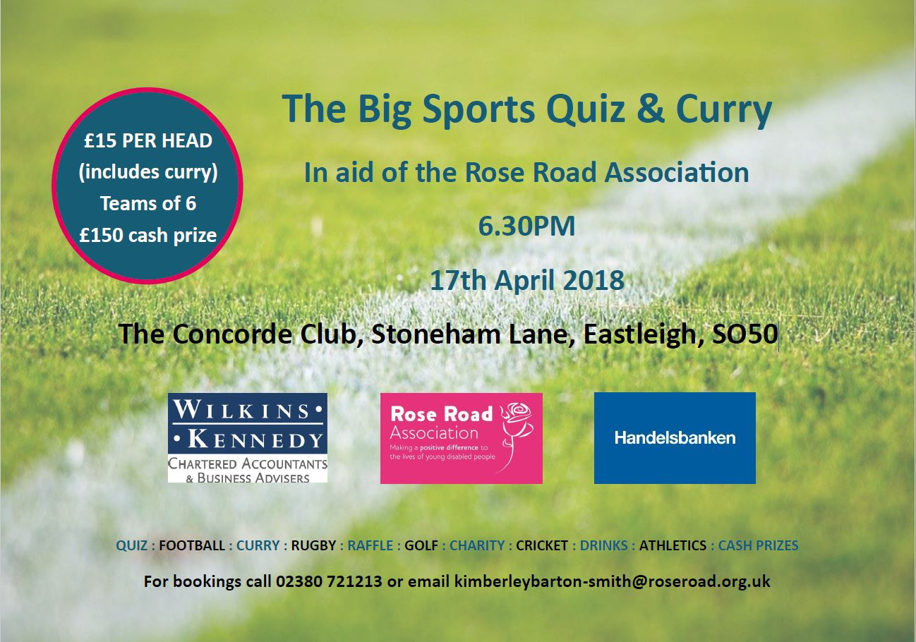 The Big Sports Quiz & Curry
