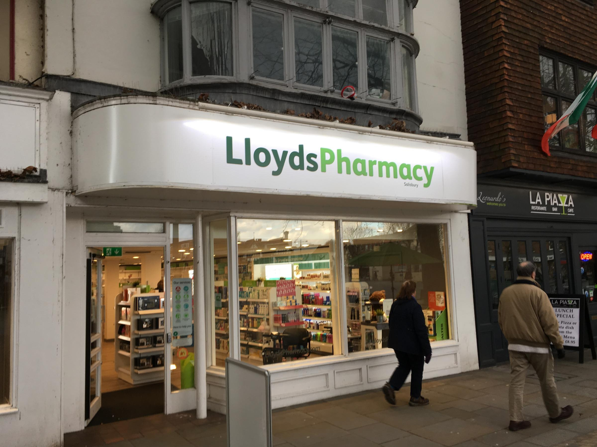 Lloyds Pharmacy in Salisbury will close next month