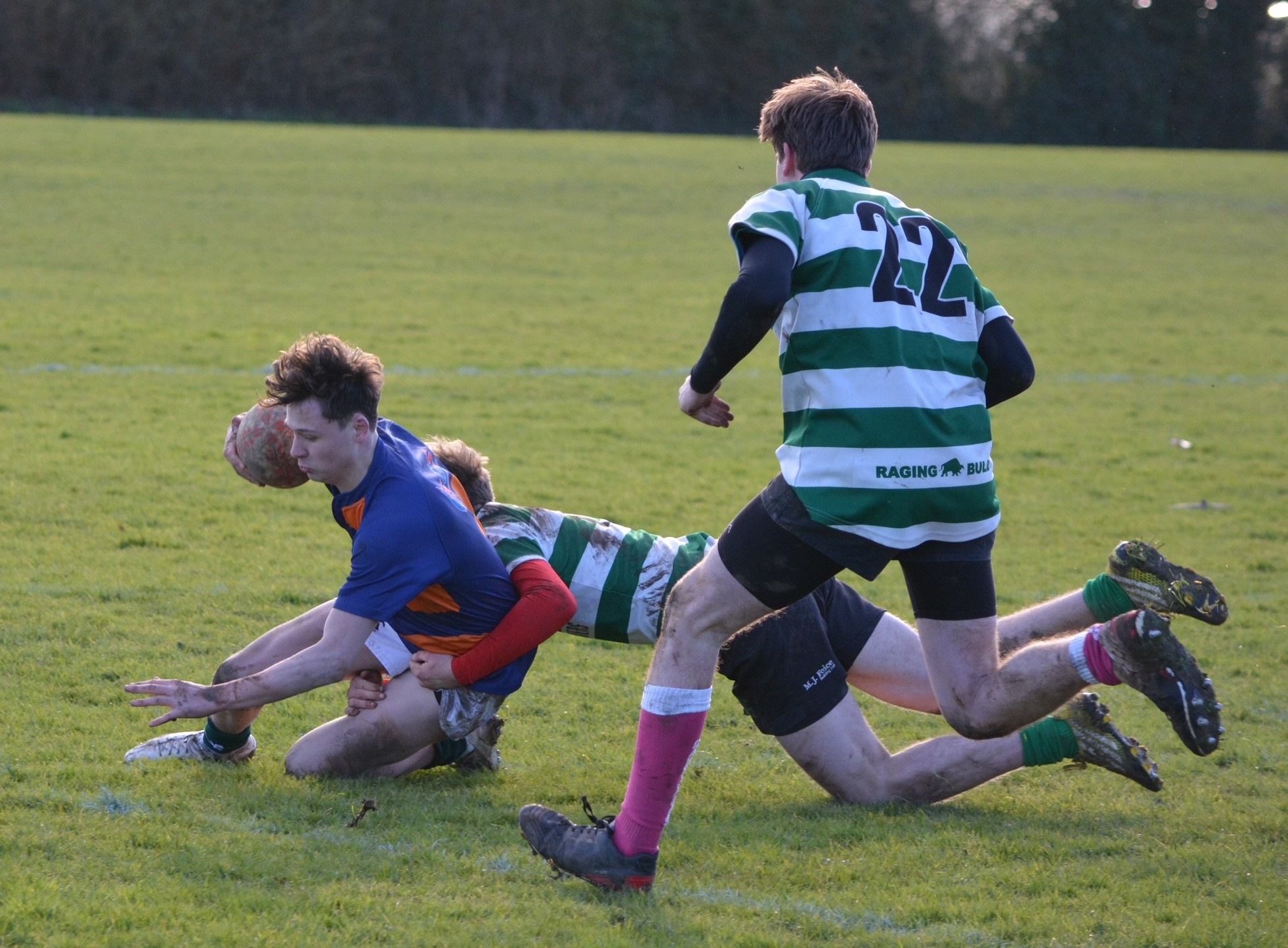 Salisbury Colts in action