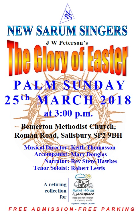 New Sarum Singers' The Glory of Easter