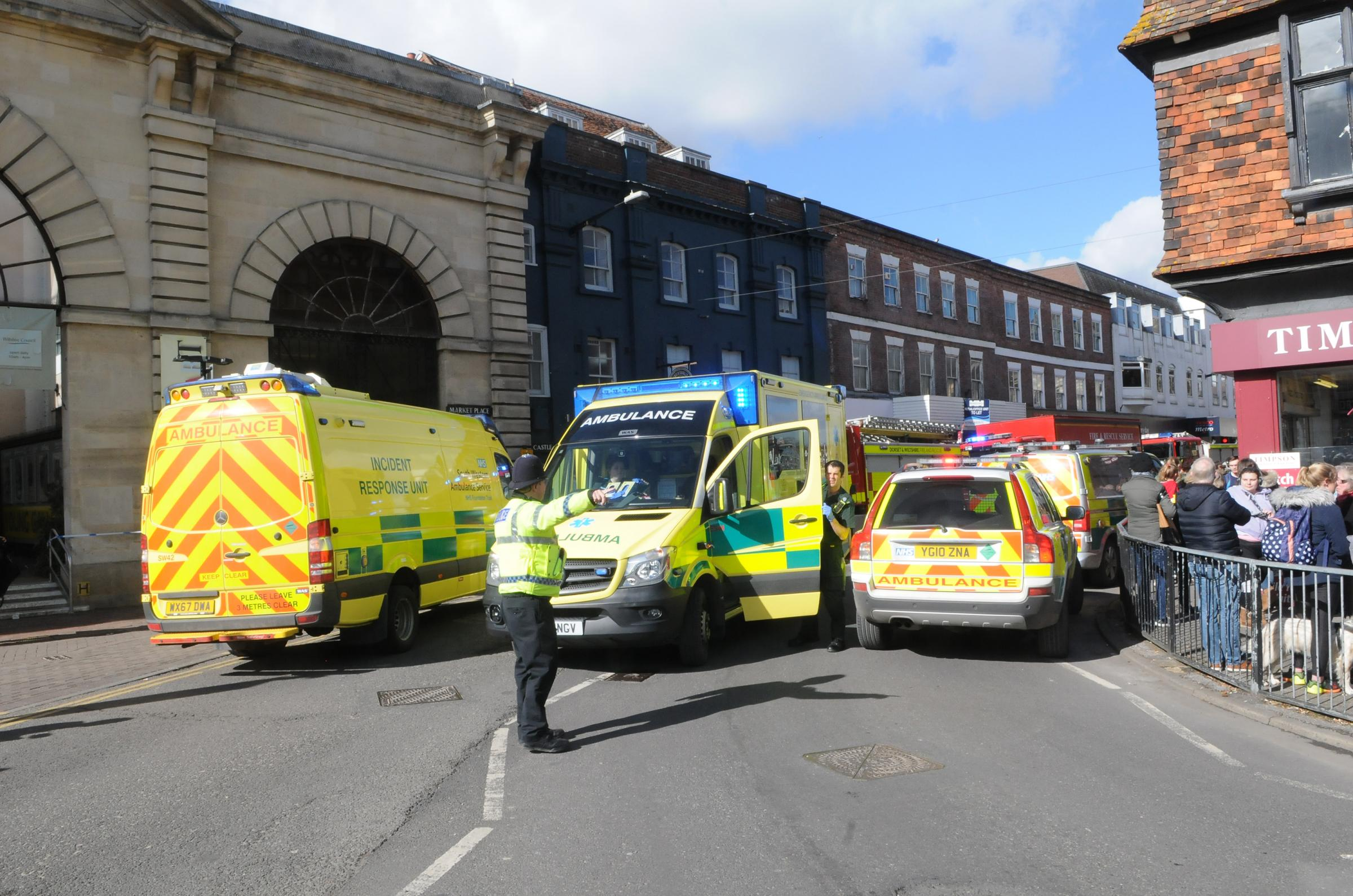 Two rushed to hospital in latest update