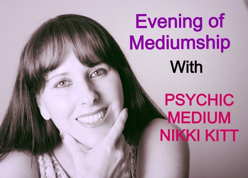 Evening of Mediumship with Nikki KItt - SWANAGE