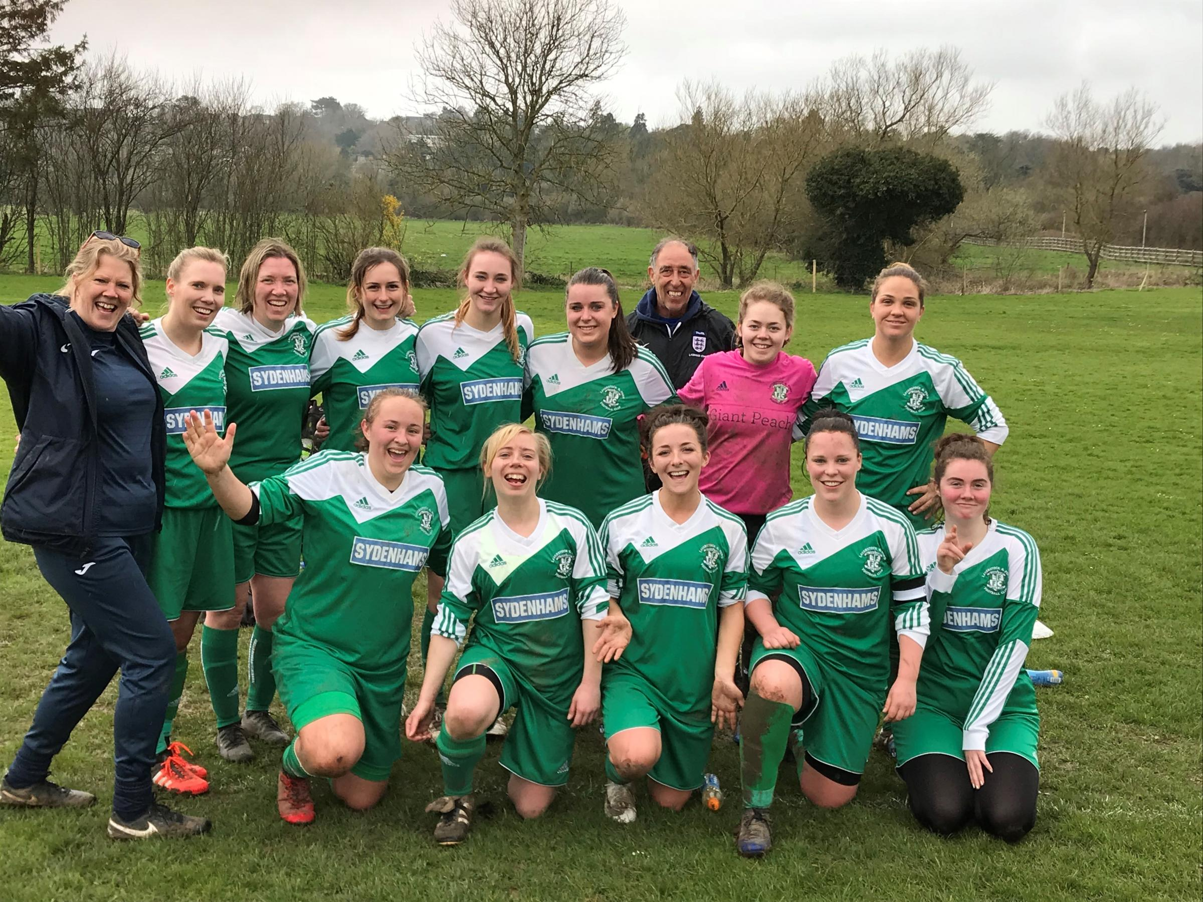 Promoted Laverstock Ladies