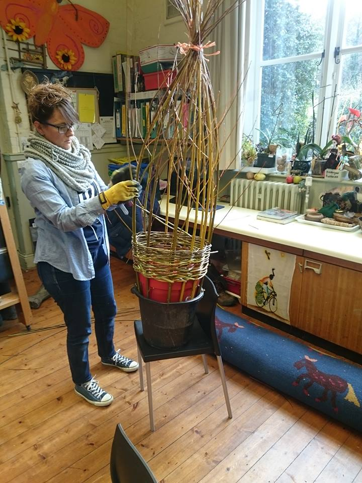 Willow Obelisk Workshop