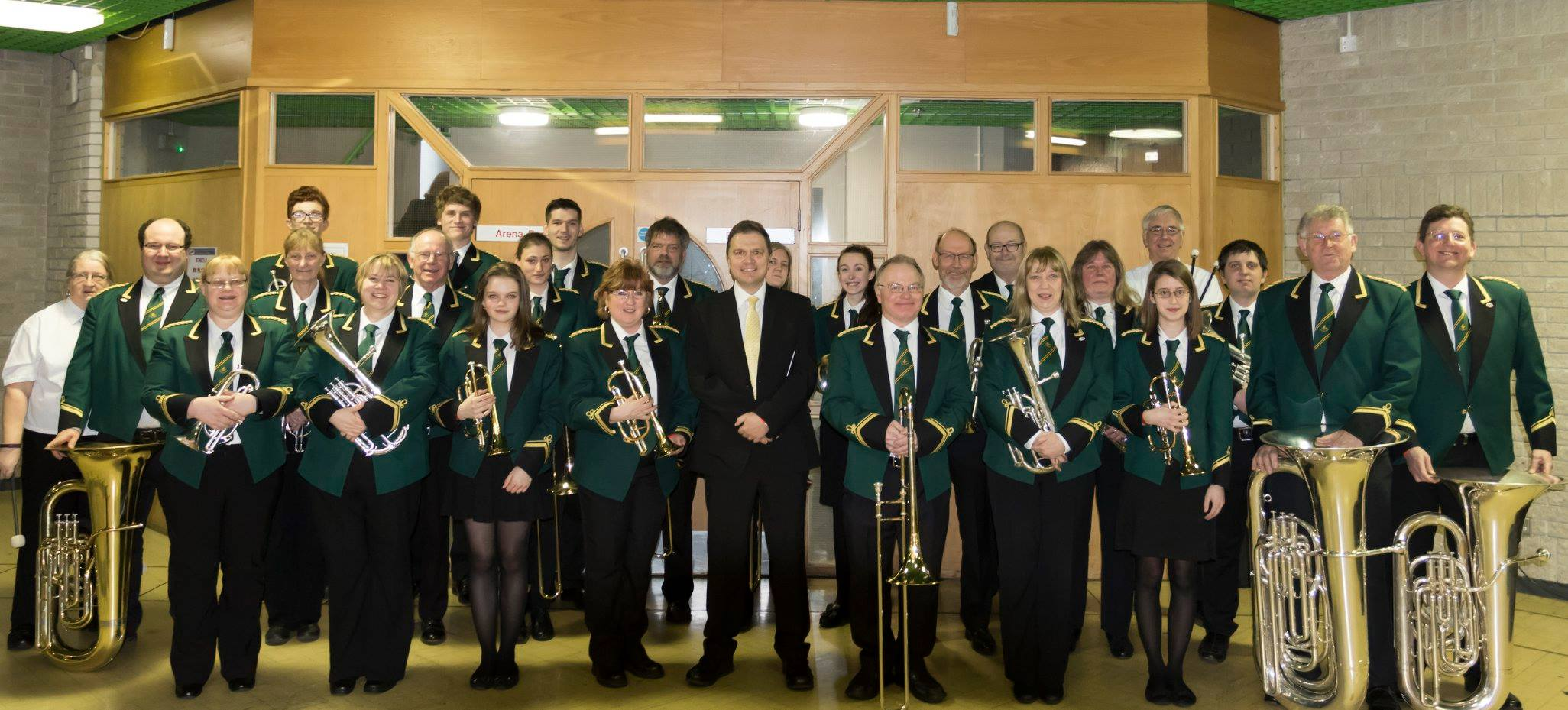 Test Valley Brass Joint Concert with Worcester Concert Brass