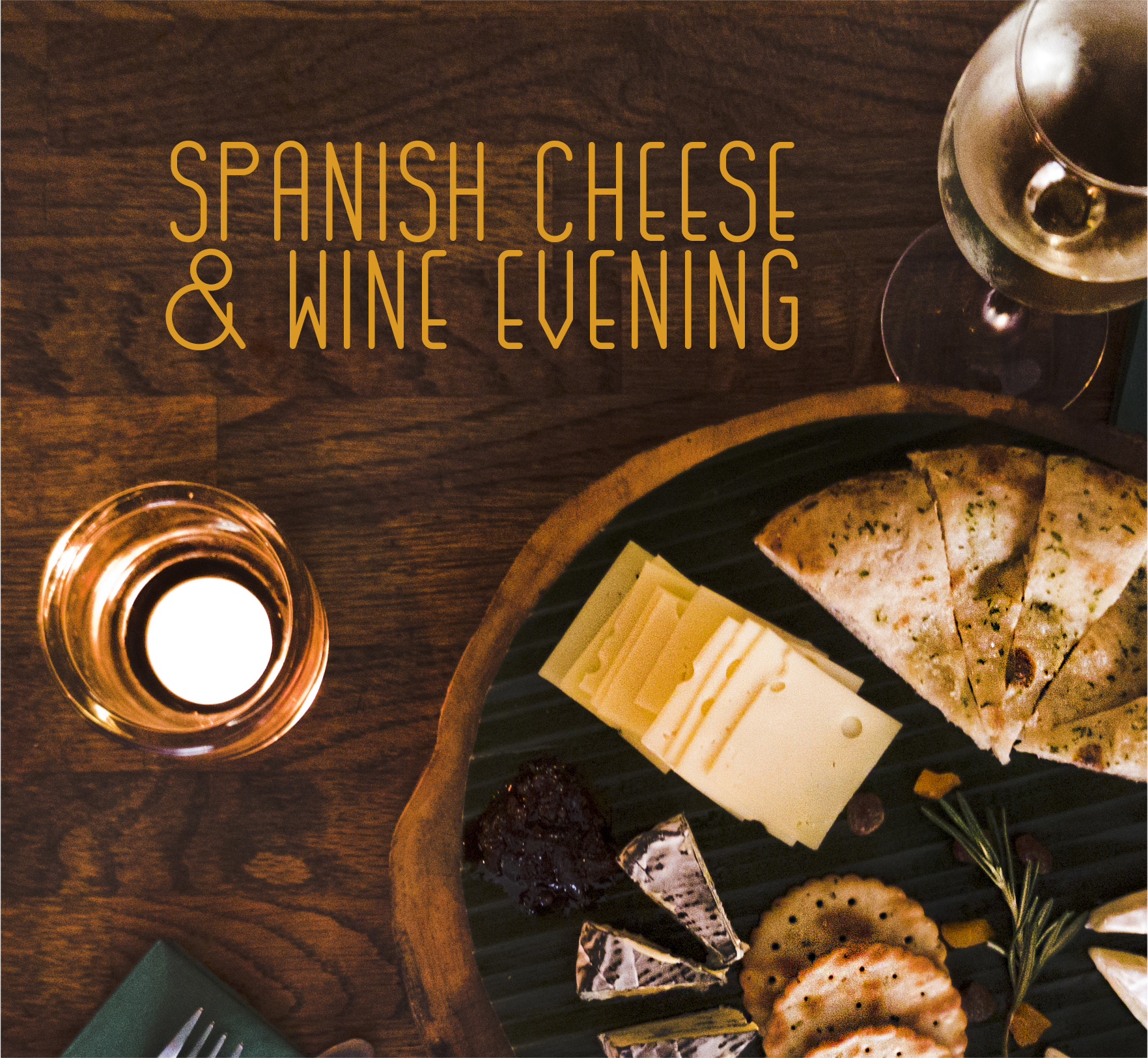 Spanish Cheese and Wine evening