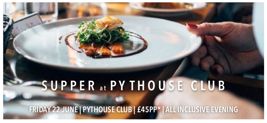 Supper at Pythouse Club