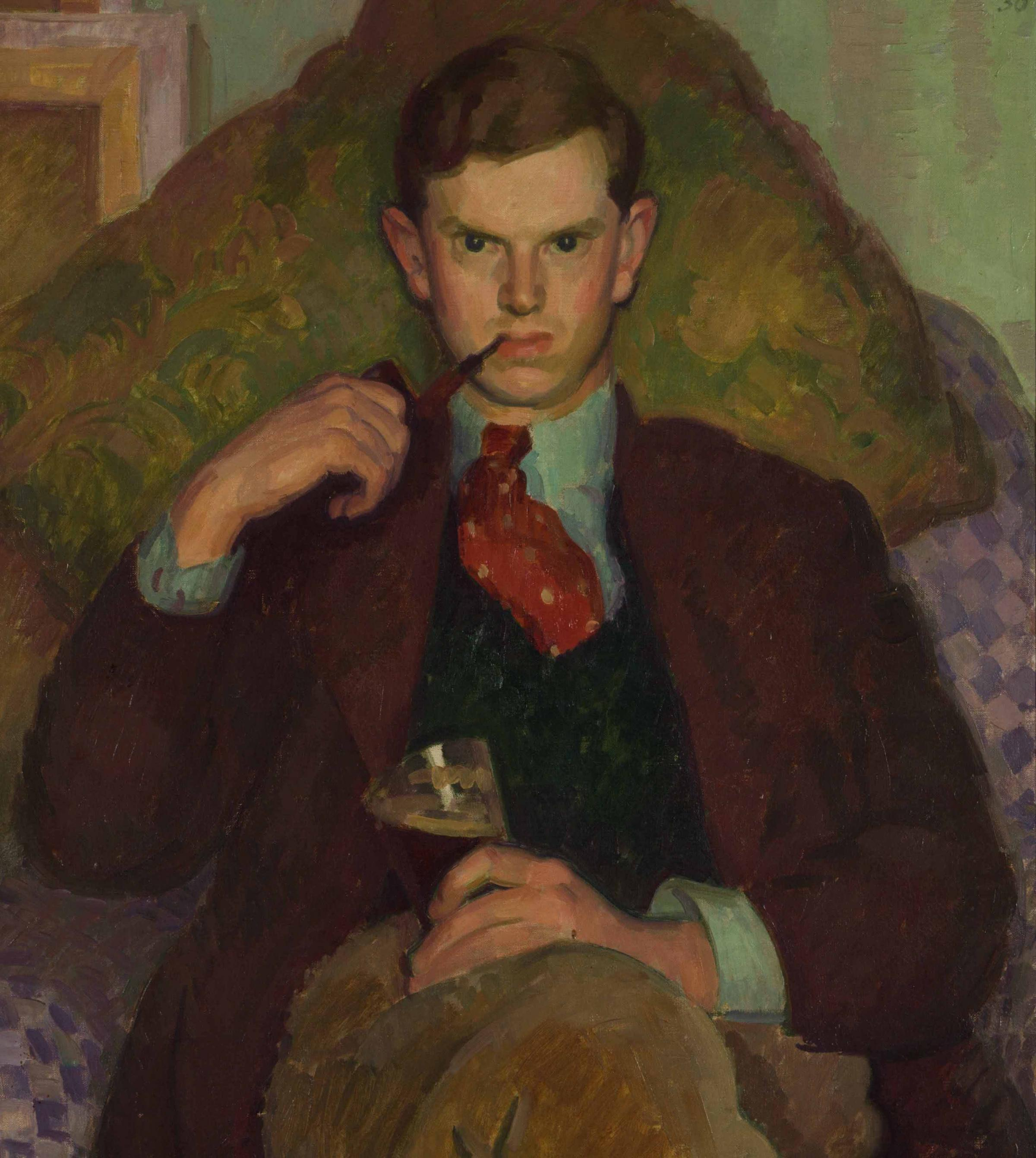 Evelyn Waugh, 1930, by Henry Lamb (Copyright Estate of Henry Lamb/Private Collection)