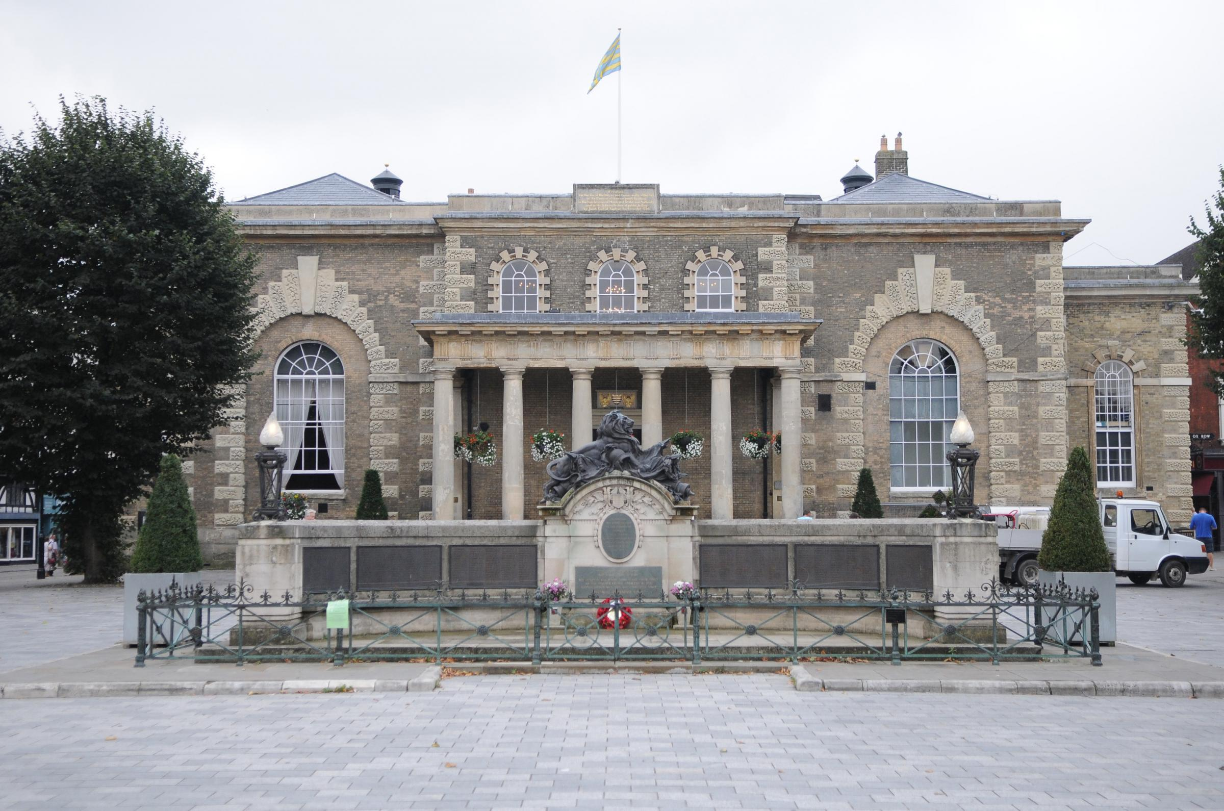 Salisbury Guildhall, where city council meetings are held