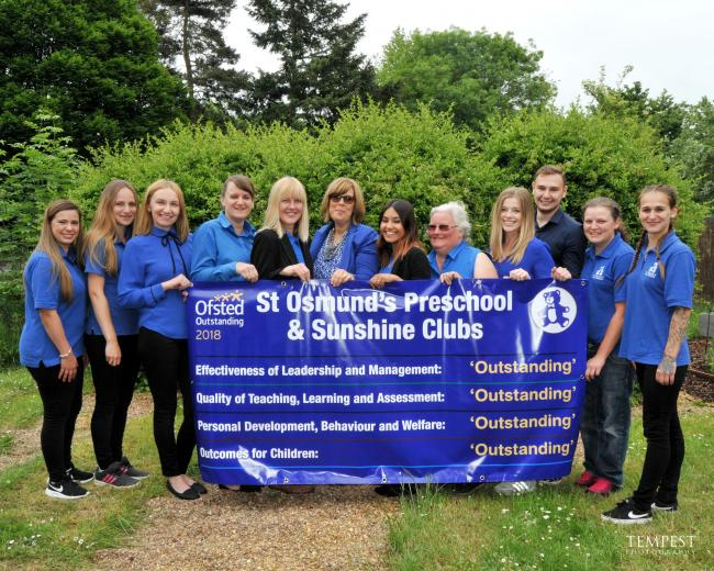 St Osmund's Pre-School rated outstanding again