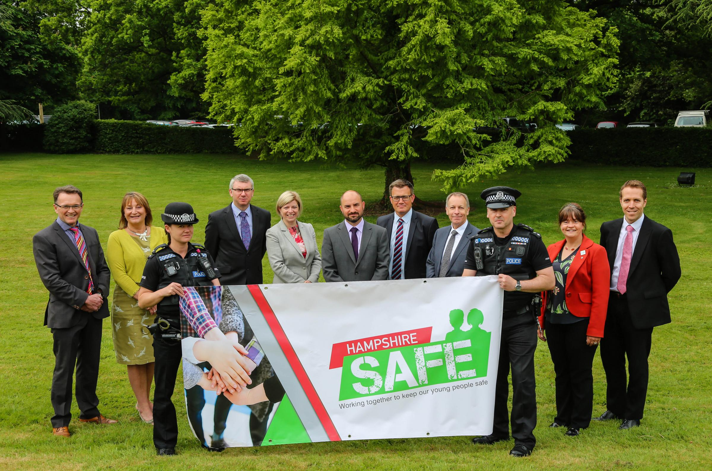New Forest schools and colleges together with Hampshire Police combine to launch Hampshire Safe.