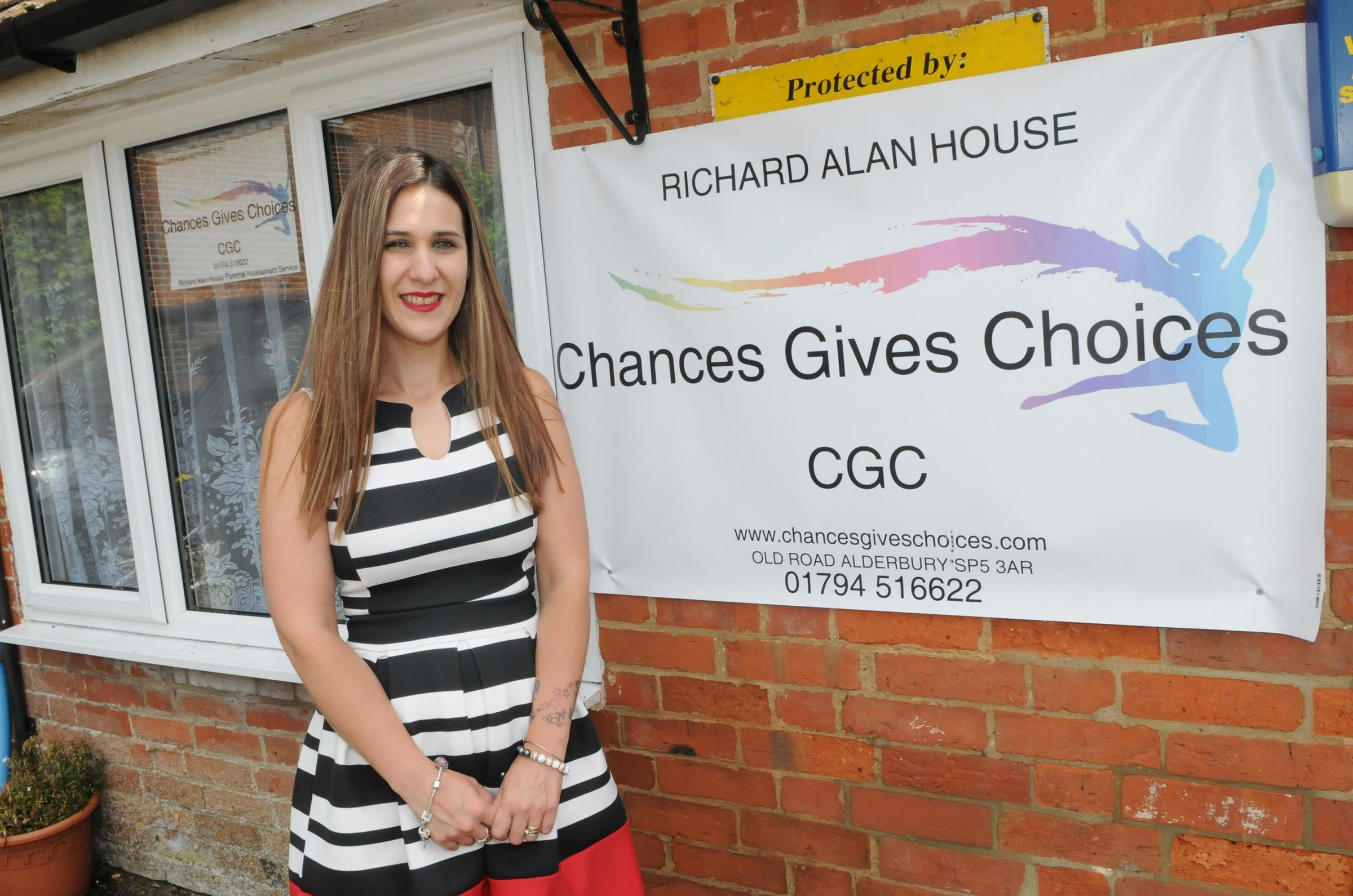 Claire Carter..Chances give Choices, Alderbury. DC7780P11..Picture by Tom Gregory.