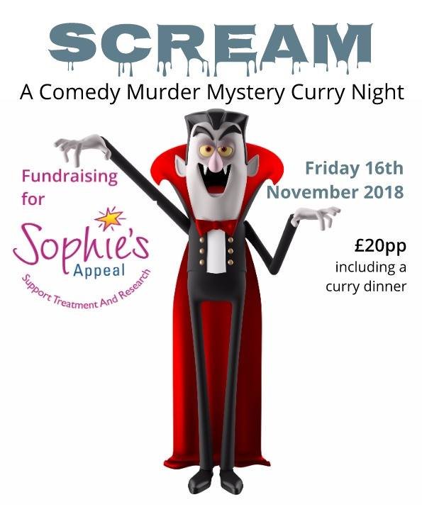 Scream! : Fundraising Comedy Curry Night