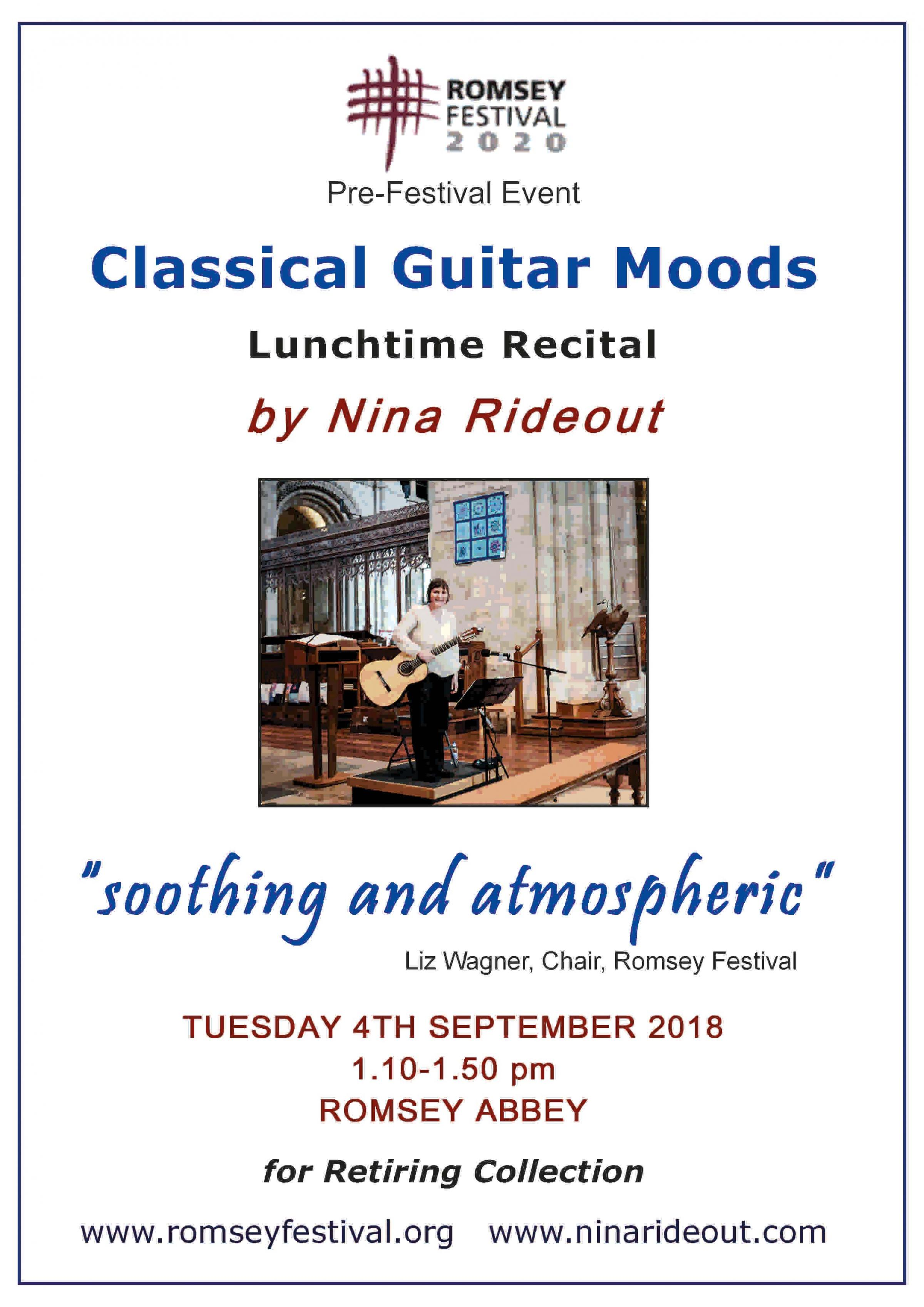 Classical Guitar Moods - lunchtime recital