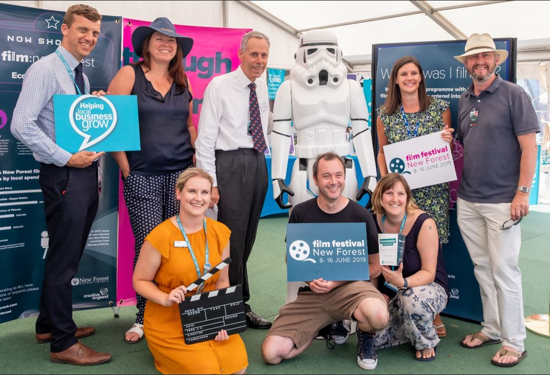 The launch of Film Festival: New Forest