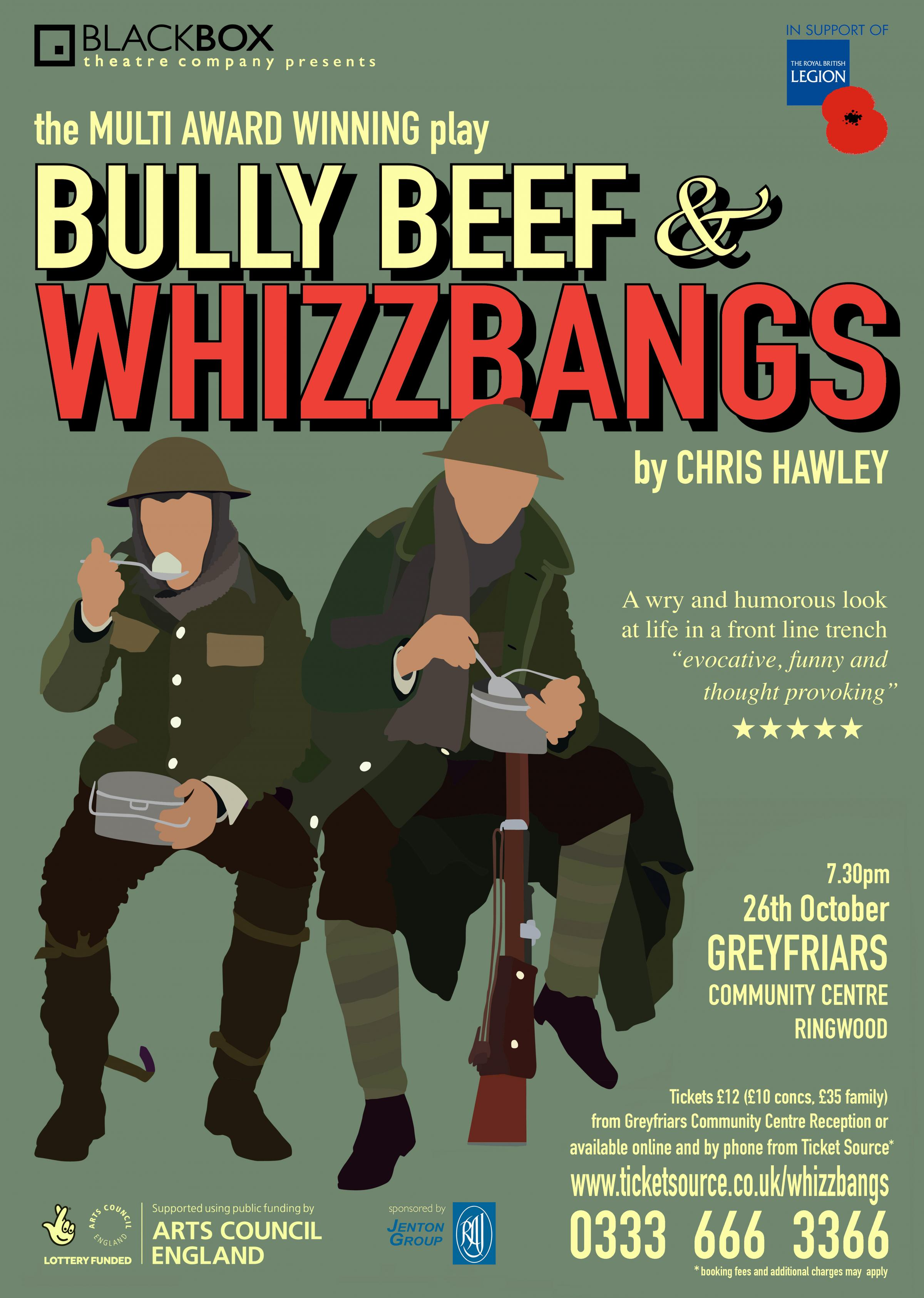 BULLY BEEF & WHIZZBANGS (relaxed performance)