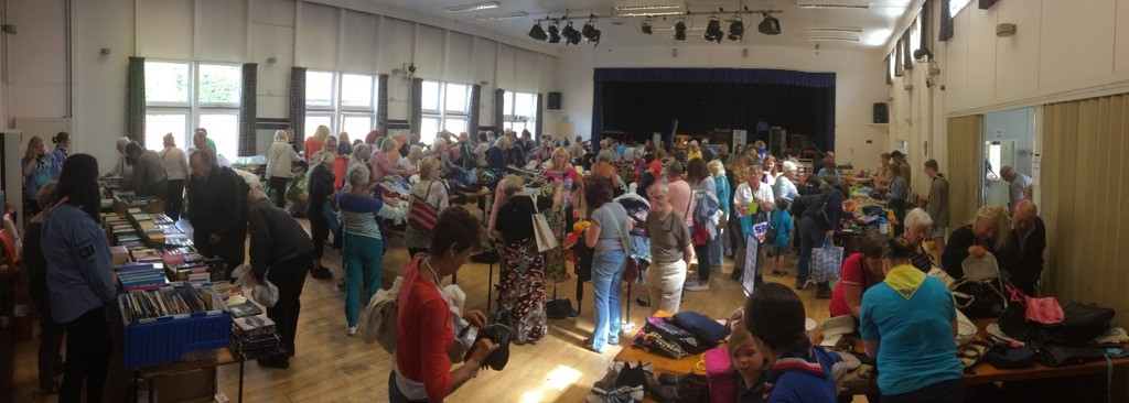 Warsash Explorer Scouts Grand Jumble Sale