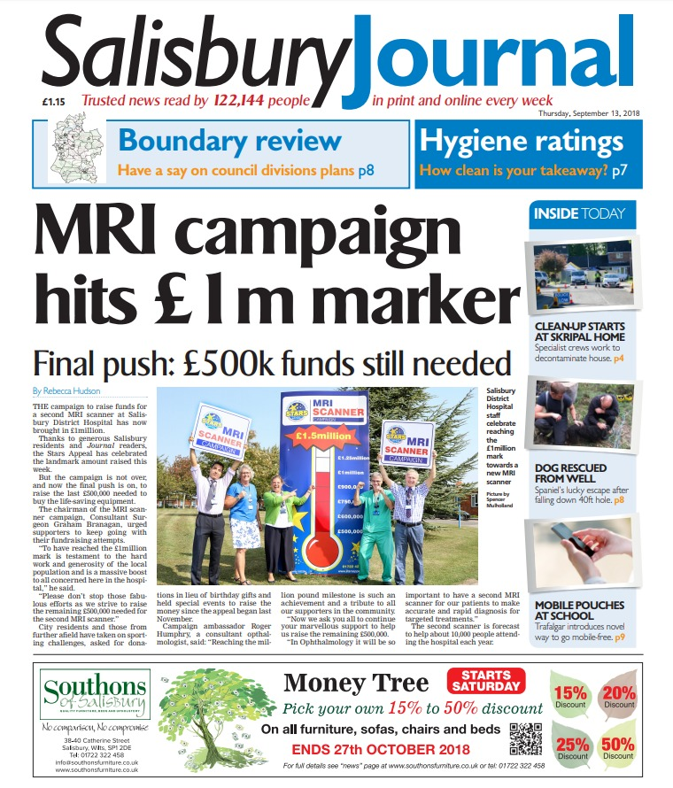 Salisbury Journal bacl September 3 2018
