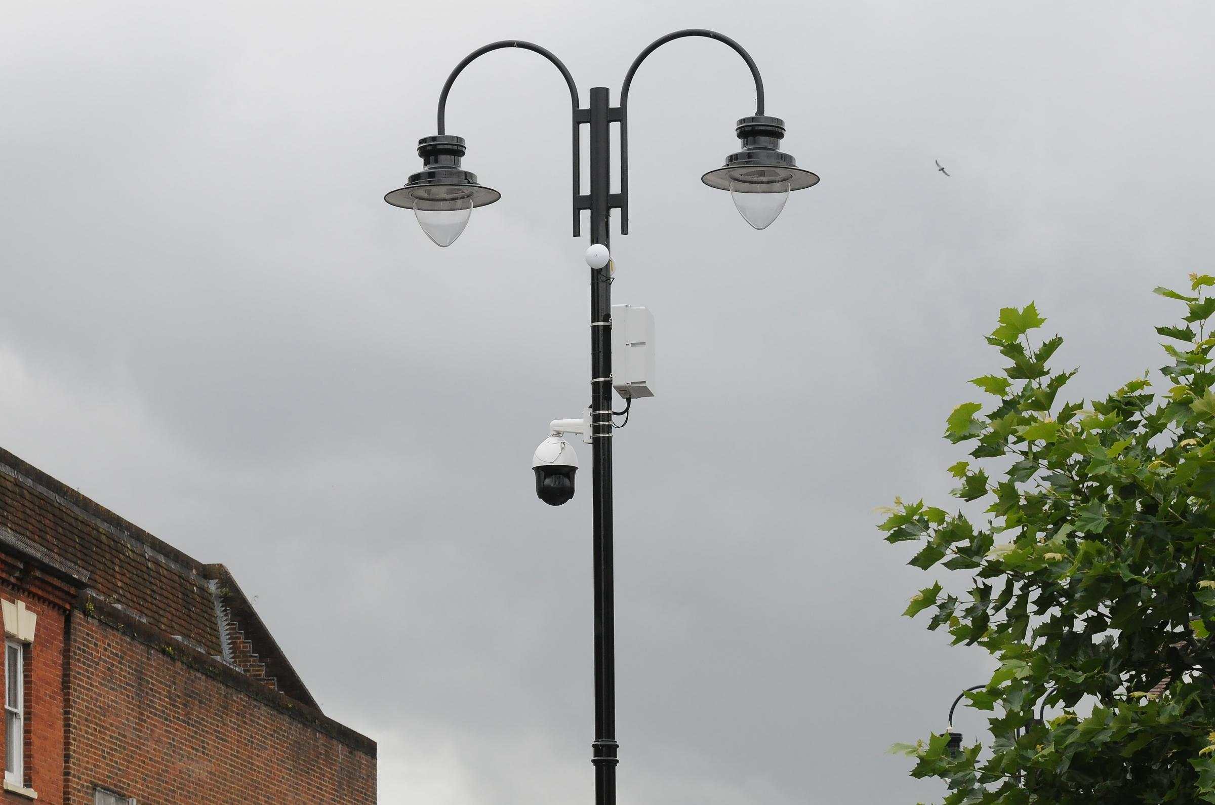New CCTV cameras in Salisbury DC8262P5..Pictures by Tom Gregory.