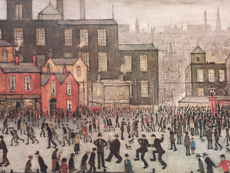 L.S. LOWRY EXHIBITION