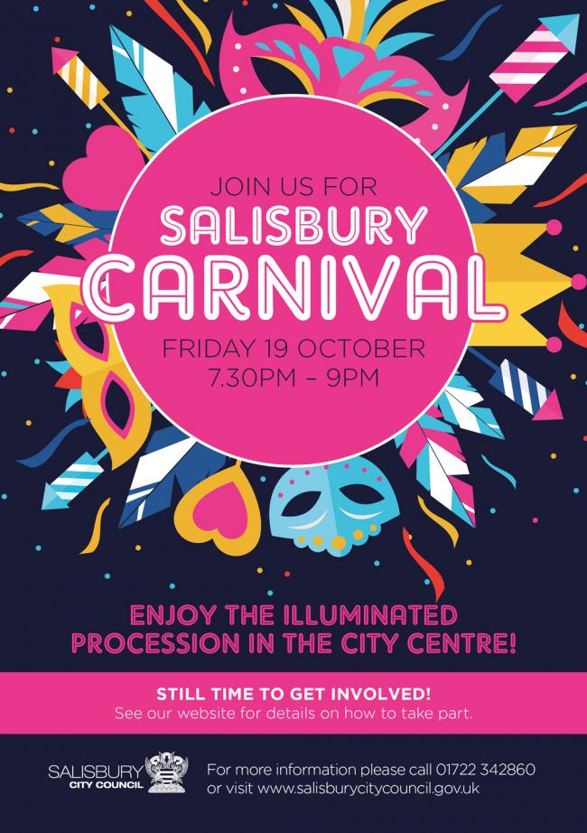 Salisbury Carnival to return for its ninth year in October
