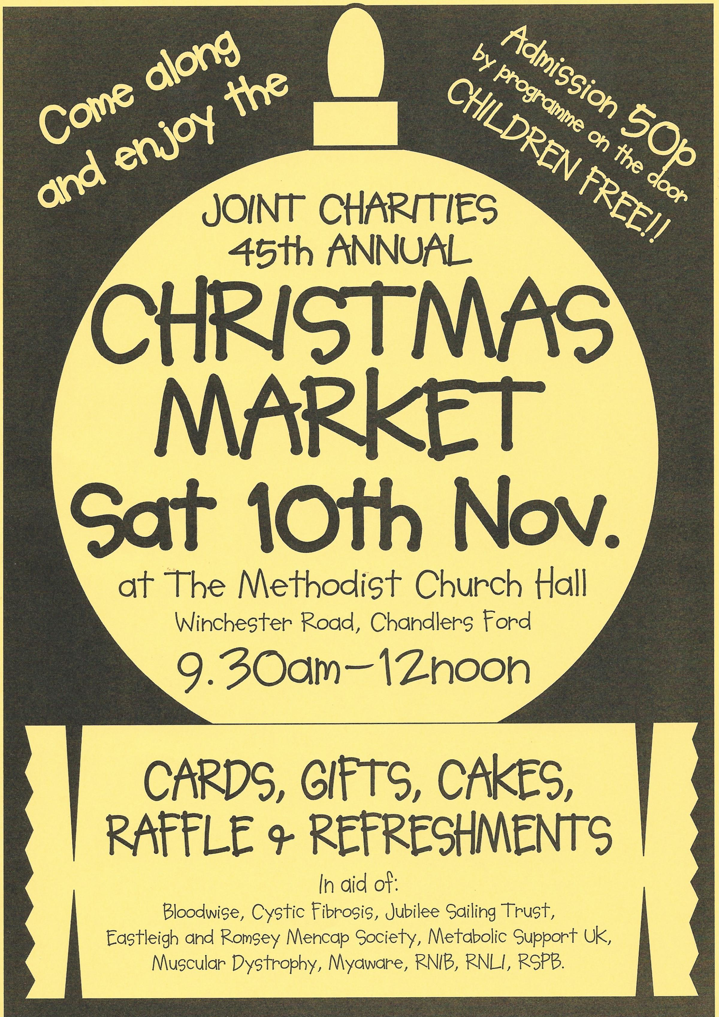 Chandlers Ford Joint Charities Christmas Market