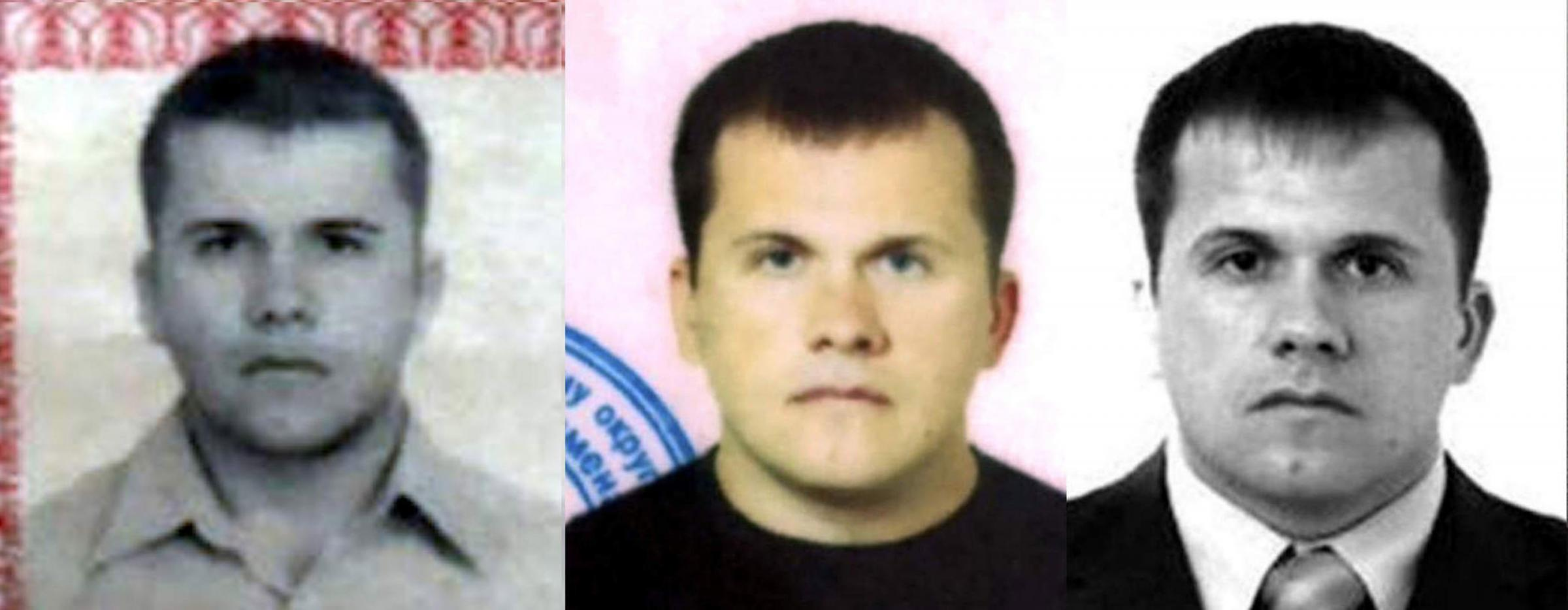 Undated handout images issued by Bellingcat of the second suspect in the Sergei and Yulia Skripal poisoning case that the investigative website have named as Dr Alexander Yevgenyevich Mishkin, The website reports Mishkin travelled to Salis