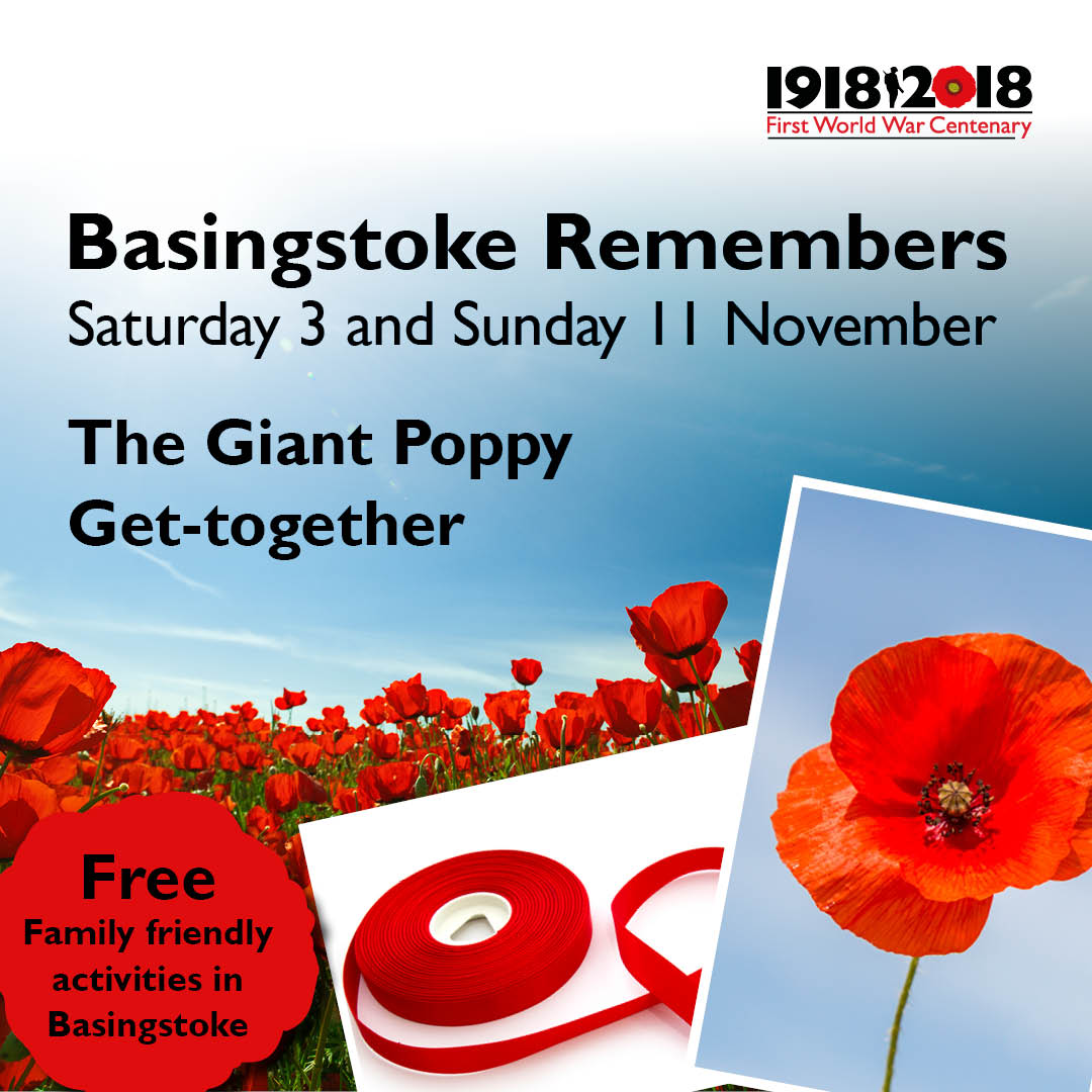 Basingstoke Remembers: The Giant Poppy get-together