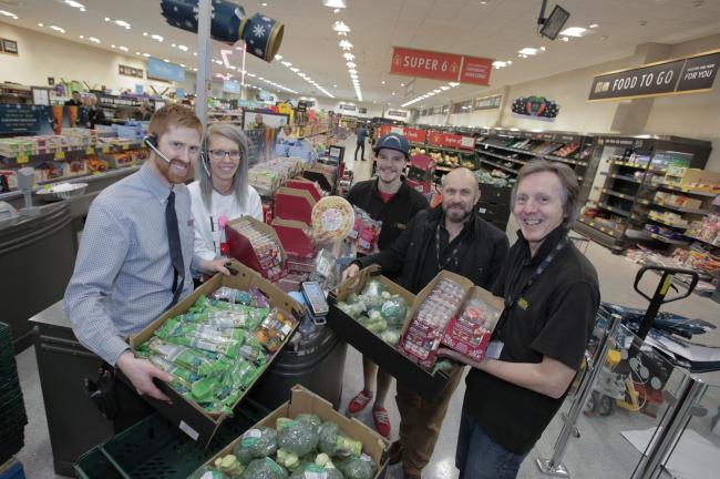Supermarket's teaming up with charities to donate food to vulnerable people