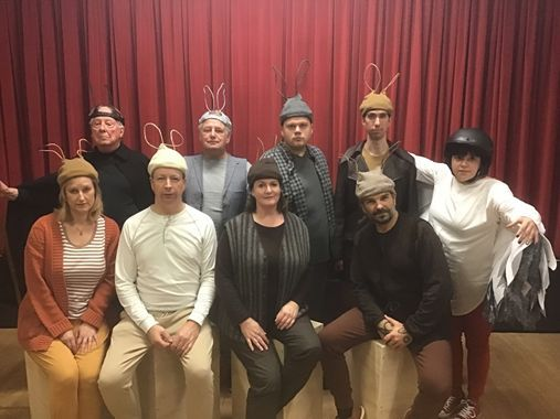 The cast of Redlynch Players' Watership Down