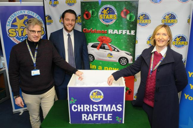 Couple from Alderholt win a car in Stars Appeal Christmas