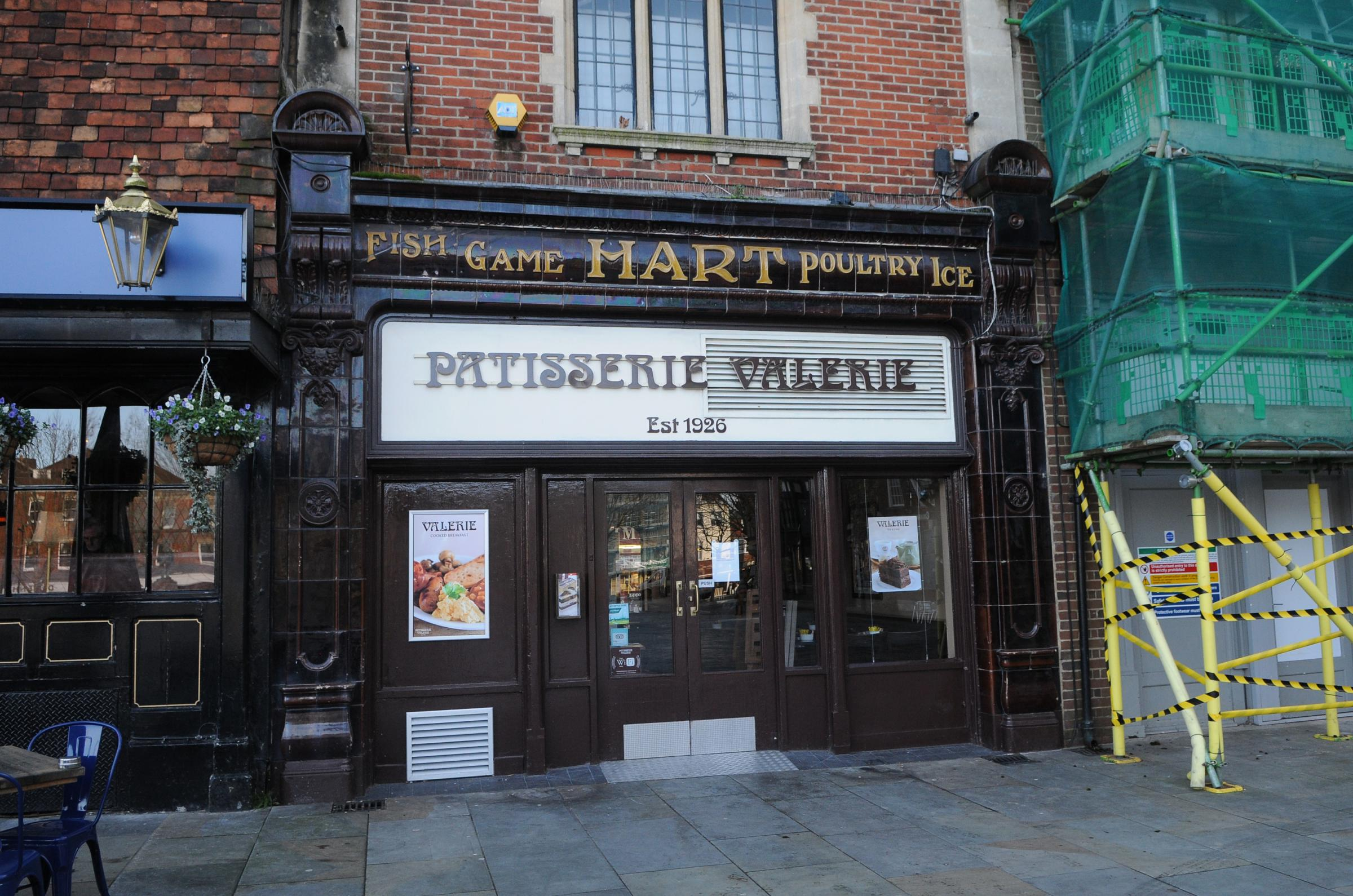 Patisserie Valerie in Salisbury has closed