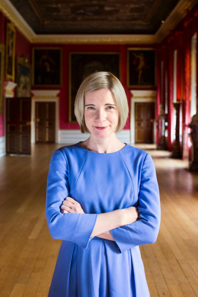 Godolphin Literary Festival 2019: Lucy Worsley   Picture by Historic Royal Places, Bloomsbury, Ben Turner