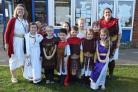 Fordingbridge Junior School pupils go back in time to learn about the Romans