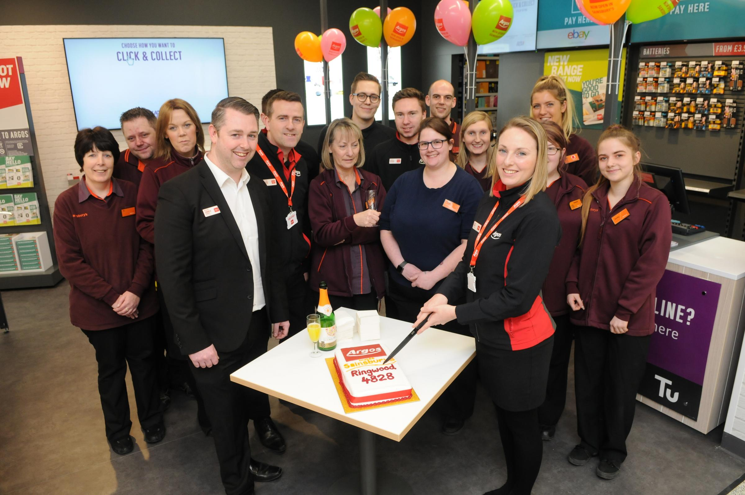The opening of the new Argos inside Sainsbury's in Ringwood   Picture by Tom Gregory