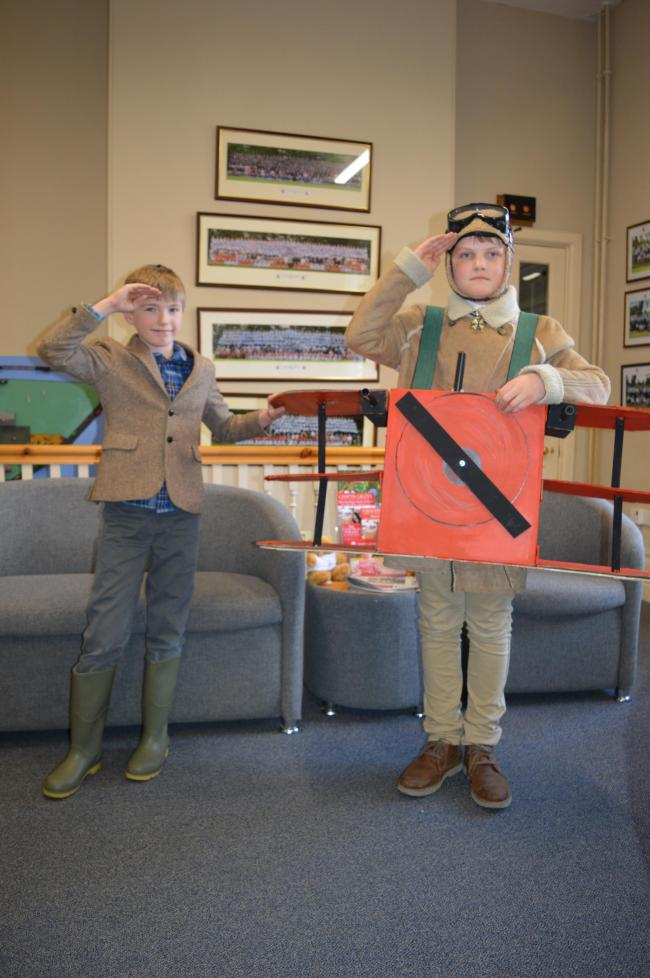 Today Chafyn Grove was filled with witches, wolves, dragons and villains of all shapes and sizes as the children and teachers celebrated World Book Day. The hero of the day was our storyteller, David Allen, who kept the children mesmerised by an enactment of the causes of WW1 and moving stories of life in the trenches.