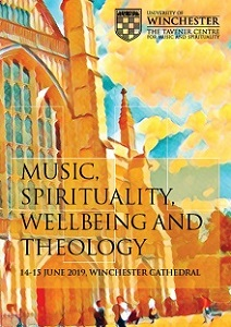 The Tavener Centre International Symposium on Music, Spirituality, Wellbeing and Theology