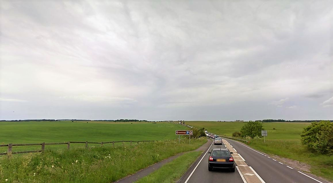 Man dies after crash involving car and lorry on A303