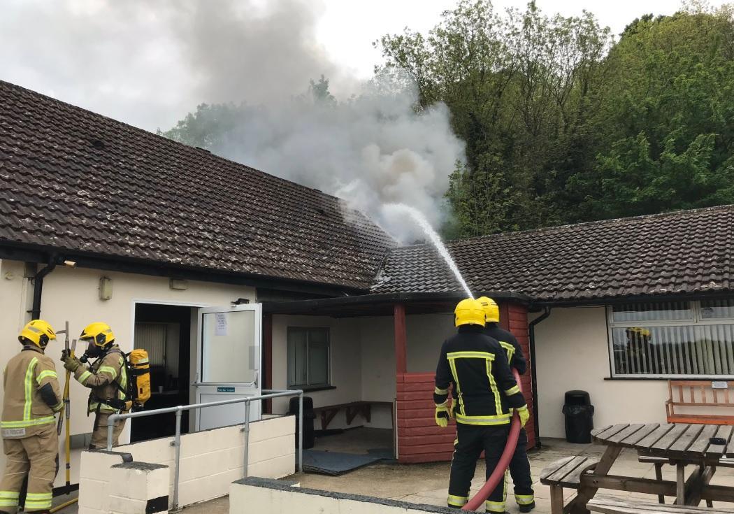 Fire at Harnham Sports and Social Club | Salisbury Journal