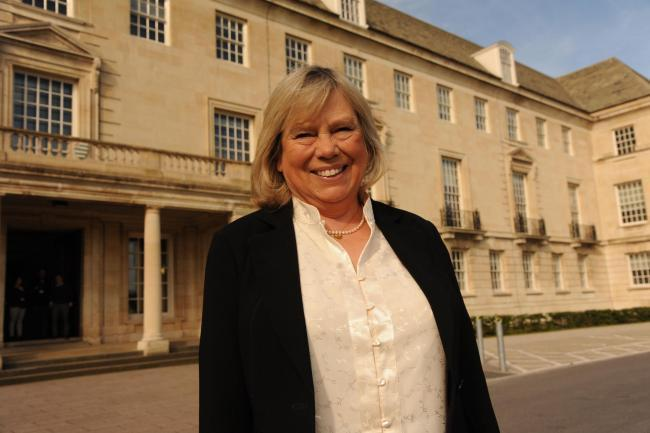 Baroness Jane Scott, leader of Wiltshire Council