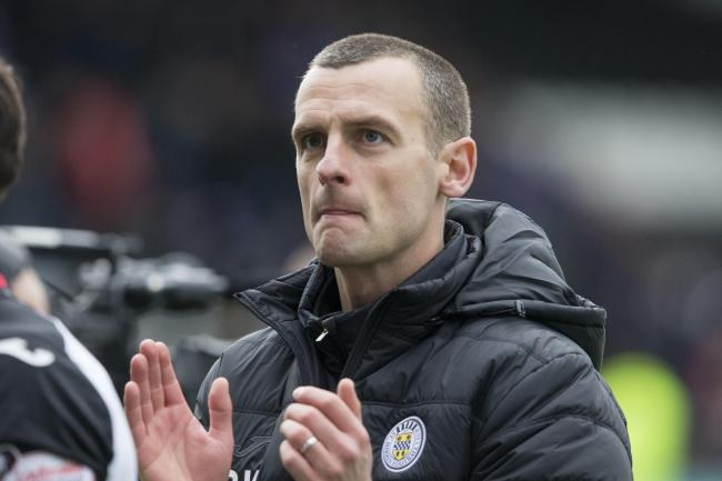 Oran Kearney's St Mirren have play-off advantage after draw at Dundee United