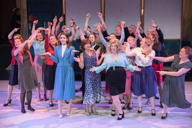 The cast of 9 to 5, photo by Anthony Wood
